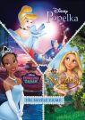 DVD Film - Kolekcia princezien: Popoluška + Princezná a žaba + Na vlásku (3 DVD)