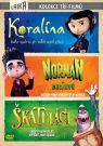 DVD Film - Koralína, Norman a duchovia, Škatuliaci (3 DVD)