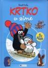 Kniha - Krtko v zime - puzzle