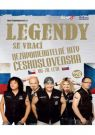 DVD Film - Legendy se vrací - Nezapomenutelné hity Československa 1 CD + 1 DVD
