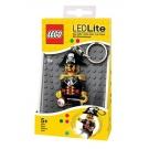 Hračka - LEGO Kapitán Červená Brada - LED kľúčenka