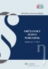 Kniha - Občiansky súdny poriadok účinný od 1.1.2012