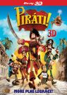 BLU-RAY Film - Piráti! (3D Bluray)