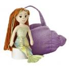 Hračka - Plyšová kabelka s morskou pannou - Sea Sparkles (23 cm)