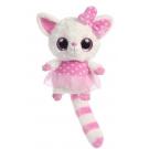 Hračka - Plyšová líštička Pammee v bodkovaných šatách - YooHoo (20,3 cm)