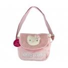 Hračka - Plyšová taštička cez rameno - Hello Kitty (21x21 cm)