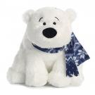 Hračka - Plyšový ľadový medveď so šálom (25,4 cm)