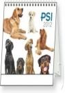 Kniha - Psi - stolní kalendář 2012