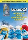 DVD Film - Šmolkovia 2 SK/CZ dabing - Exkluzívne balenie s figúrkou Šmolinka