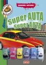 Kniha - Super auta - Omalovánky + 6 hraček
