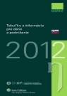 Kniha - Tabuľky a informácie pre dane a podnikanie 2012