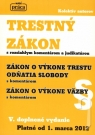 Kniha - Trestný zákon s rozsiahlym komentárom a judikatúrou od 1.marca 2012