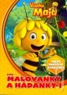 Kniha - Včielka Maja – Maľovanky a hádanky 1