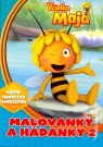 Kniha - Včielka Maja – Maľovanky a hádanky 2