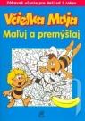 Kniha - Včielka Maja Maľuj a premýšľaj