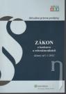 Kniha - Zákon o konkurze a reštrukturalizácii účinný od 1.1.2012