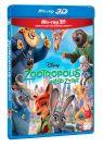 BLU-RAY Film - Zootropolis - 3D/2D
